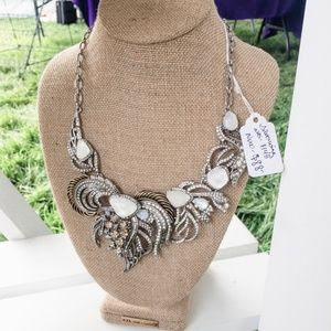 Silverwing statement necklace